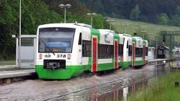 Erste Überschwemmungen in Thüringen