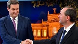 CSU stellt Weichen für Koalition mit Freien Wählern
