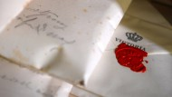 Postgeheimnis: Noch weiß niemand, was der späteren Kaiserin Auguste Victoria einst geschrieben wurde.