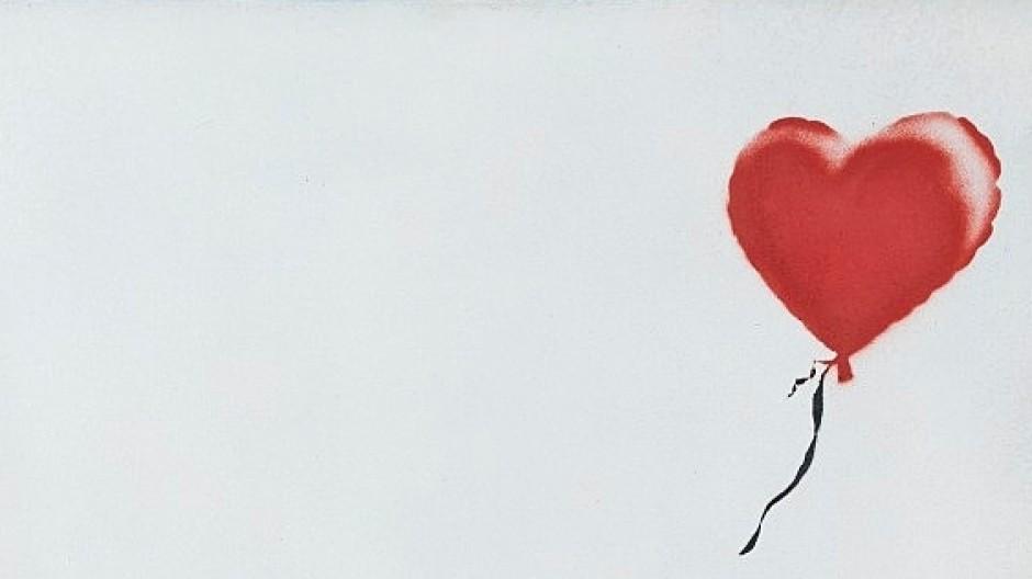 """Schreddern wird belohnt: Für Banksys """"Love is in the Bin"""" fiel der Hammer erst bei 16 Millionen Pfund."""