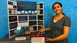 Diese Schülerin will ein Medikament gegen Covid-19 entwickeln