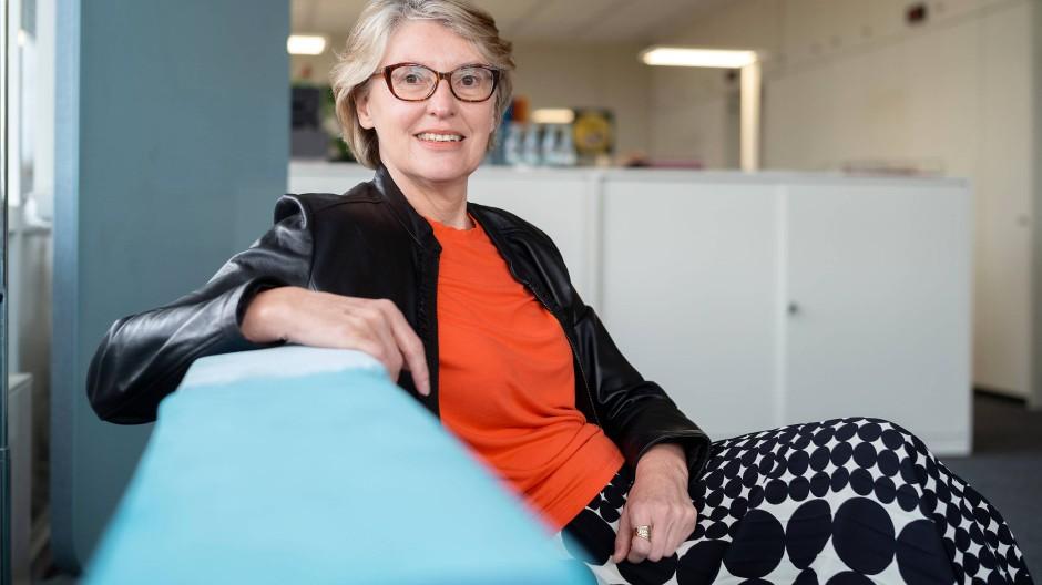 Gabriele Holzner ist die neue stellvertretende Intendantin des Hessischen Rundfunks.