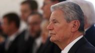 Abschiedsrede von Bundespräsident Joachim Gauck