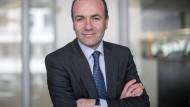 Der EVP-Fraktionsvorsitzende Manfred Weber