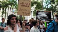 Umweltaktivisten demonstrieren in New York