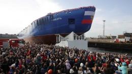 Stapellauf für russischen Atom-Eisbrecher