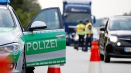 Bayern kontrolliert Grenzen