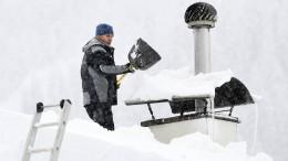 Wie viel Schnee hält ein Dach aus?