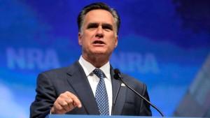 Romney umschmeichelt Waffenlobby