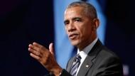 Für seine Twitter-Reaktion auf die Ausschreitungen in Charlotteville bekam Barack Obama viel Beachtung. (Archivfoto)