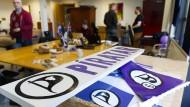 Bei der Wahl in Island kündigt sich ein Erfolg der Piratenpartei an.
