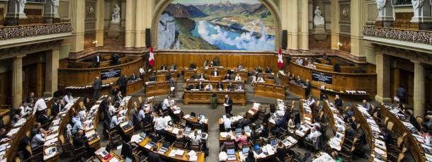 Meist ein Ort der Eintracht: Der Nationalratssaal in Bern