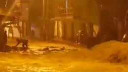 Erdrutsche und Überflutungen in Peru