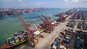 Chinesische Industrie schrumpft vierten Monat hintereinander