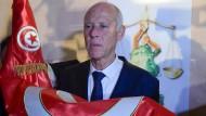 Konservative Euphorie: Tunesiens neuer Präsident Kaïs Saïed will sein Land umkrempeln.