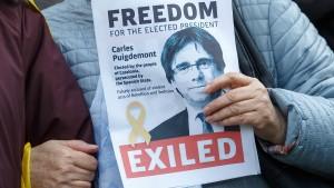 Puigdemont legt Einspruch in Spanien ein