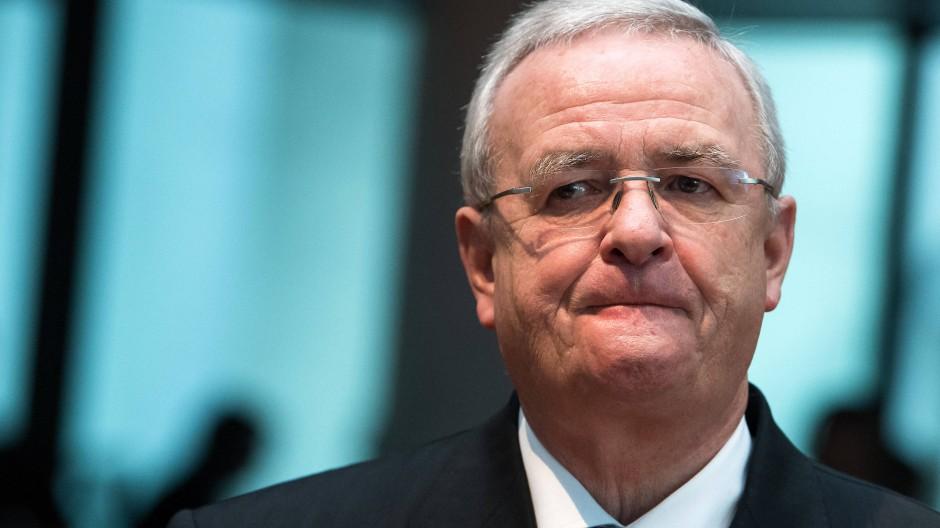 Der ehemalige VW-Chef Martin Winterkorn am 19. Januar 2017 als Zeuge bei einer Sitzung des Abgas-Untersuchungsausschusses des Deutschen Bundestages.