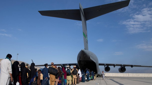 Das Ende der Luftbrücke aus Kabul