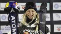 Lächeln für den dritten Platz: Lisa Zimmermann gilt nicht als Vorzeigeprofi, ist aber ein Ausnahmetalent.