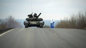 Amerika wirft Russland Aufrüstung in der Ostukraine vor