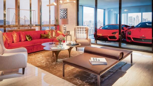 Bild / Wohnzimmer / Ferrari