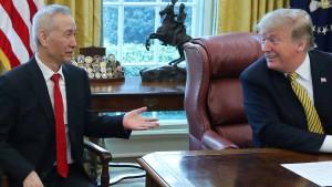 Trump stellt Ende des Handelsstreits in Aussicht