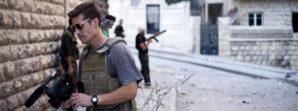 Der inzwischen ermordete Journalist James Foley hätte befreit werden sollen