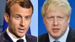 Macron weist Brexit-Pläne von Johnson zurück