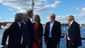Farewell in Boston