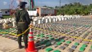 Polizei beschlagnahmt Kokain im Wert von 212 Millionen Euro