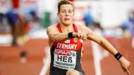 Auf dem Sprung zu EM-Gold: Max Heß