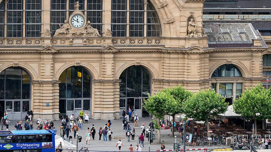 Zittern im Zentrum: Den Bahnhof halten die meisten Frankfurter für einen gefährlichen Ort.