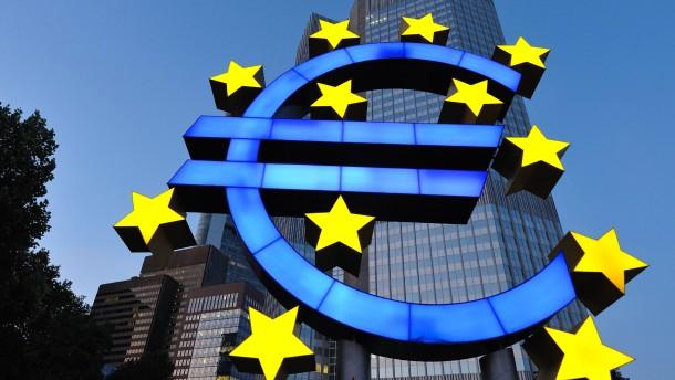 Die Europäische Zentralbank wartet ab