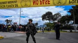 Anschlag auf Polizeischule in Bogotá