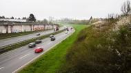 Jahrhundertvorhaben: Die A661 soll zwischen Bornheim und Seckbach überbaut werden