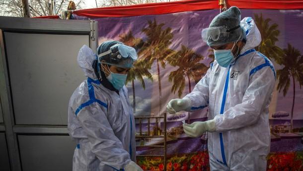 Indien startet Mega-Impfkampagne