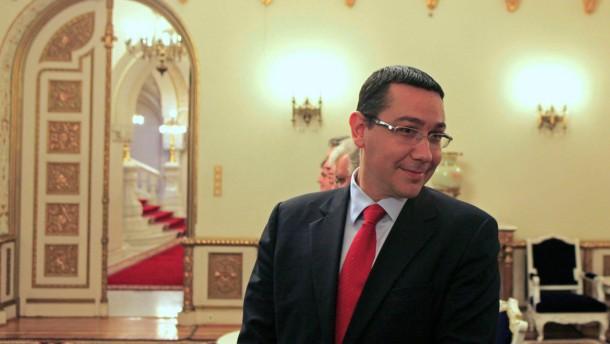 Ponta akzeptiert Forderungen der EU