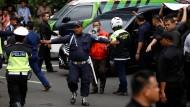 Börse von Jakarta stürzt ein