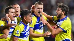 Juventus quält sich zum ersten Sieg