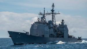 Amerikanisches Kriegsschiff passiert Taiwanstraße