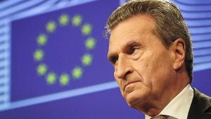 Oettinger schließt EU-Zollsenkungen aus