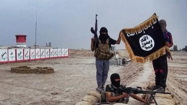 Kämpfer der Organisation Islamischer Staat