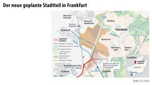 Frankfurt treibt Neubaugebiet voran