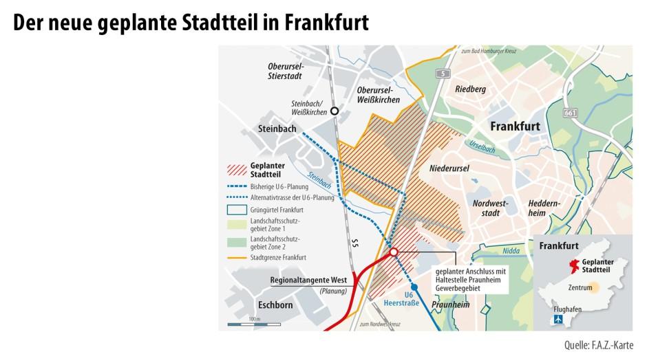 Frankfurt Gefährliche Viertel