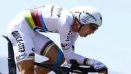 Martins Team verpasst Titel im Zeitfahren