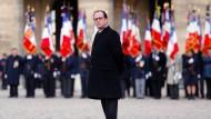 Einmaliges Scheitern: François Hollande will nicht nochmal antreten um Präsident zu bleiben.