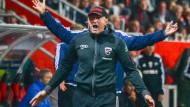 Ingolstadt-Trainer Hasenhüttl schaut immer nur auf das nächste Spiel