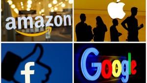 Noch mehr Druck auf Technologiegiganten