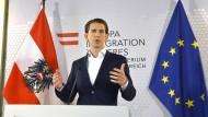Außenminister Kurz will Neuwahlen in Österreich