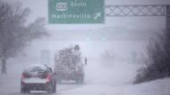 Mehrere Tote bei Schneesturm in Amerika